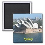 Imán del teatro de la ópera de Sydney Australia