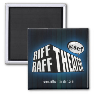 Imán del teatro de Raff del riff