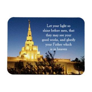 Imán del templo de LDS
