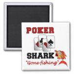 Imán del tiburón del póker