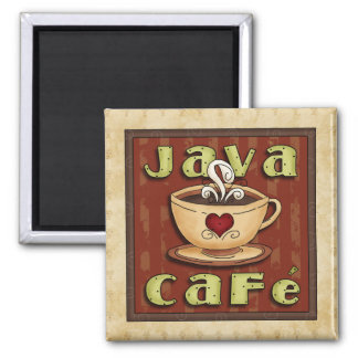 Imán del tiempo del café