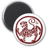Imán del tigre de Shotokan