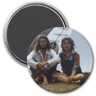 Imán del tipi del Hippie y de la madre
