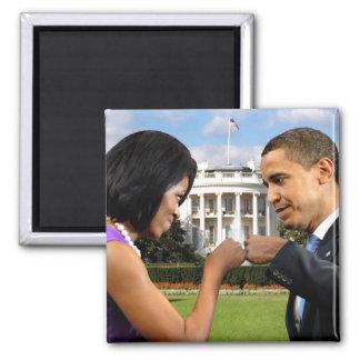 Imán del topetón del puño de la Casa Blanca de Oba
