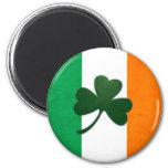 Imán del trébol de Irlanda