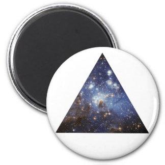 imán del triángulo del espacio del inconformista