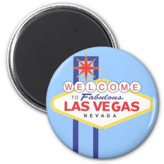 Imán del viaje de las vacaciones de Las Vegas