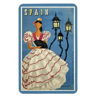 Imán del viaje del vintage de ESPAÑA