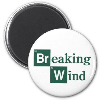 Imán del viento de fractura