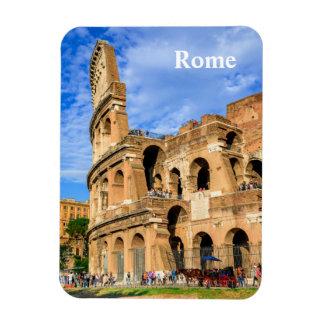 Imán del vinilo de Roma y de Colosseum
