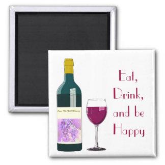 Imán del vino