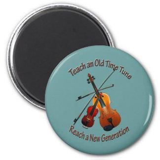 Imán del violín - enseñe a de antaño