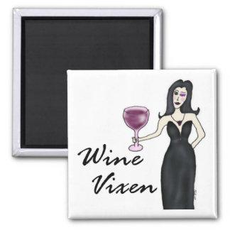 Imán del Vixen del vino (el ningún decir)