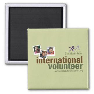 Imán del voluntario del International de CCS