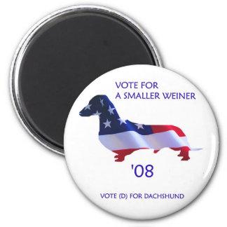 Imán del voto redondo - solamente