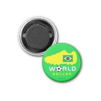 Imán del zapato del mundial 2010 del Brasil