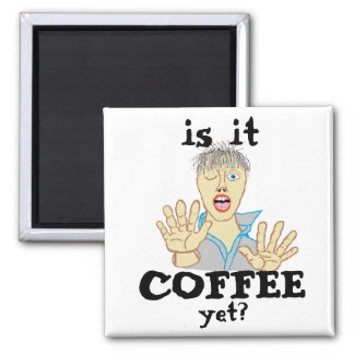 Imán del zombi del café