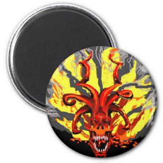 Imán demoníaco del cráneo