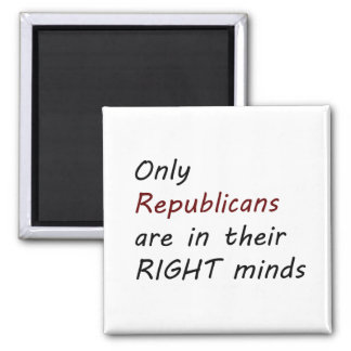 Imán derecho de la mente