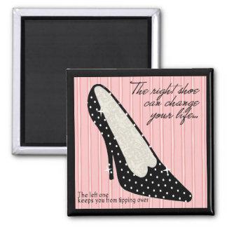 Imán derecho del zapato