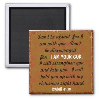 Imán derecho victorioso del verso de la biblia