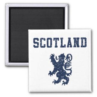 Imán desenfrenado del león de Escocia