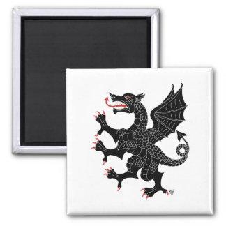 Imán desenfrenado del Sable del dragón (en blanco)