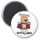 Imán divertido de Halloween: Perro del vampiro