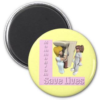 Imán - el mamograma ahorra vidas