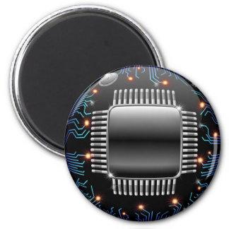 Imán electrónico del circuito de la placa madre