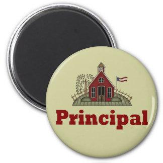 Imán elemental del director de escuela