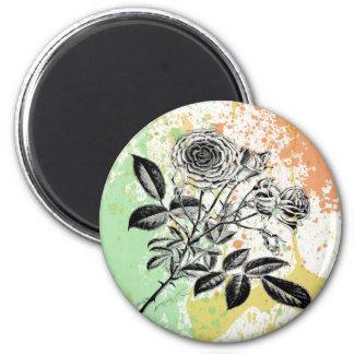 Imán en colores pastel de la impresión de los rosa