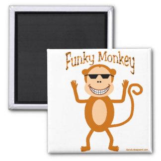 Imán enrrollado del mono