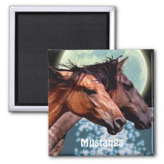 Imán equino del arte de los caballos españoles del