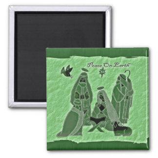 Imán Escena-Verde de la natividad
