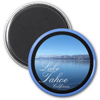 Imán escénico del círculo del lago Tahoe Californi