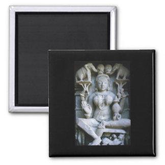 Imán esculpido de la India del arte