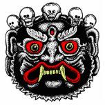 Imán/escultura butaneses del recorte del demonio escultura fotografica