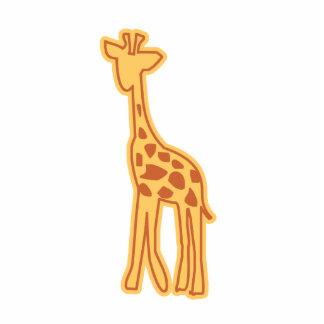 Imán/escultura lindos de la jirafa imán fotoescultura
