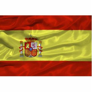 Imán español de la bandera imán fotoescultura