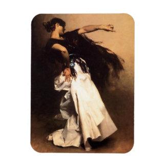 Imán español del bailarín de Sargent del cantante