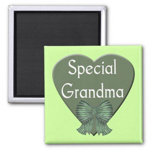 Imán especial de la abuela