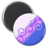 imán espiral de la lila