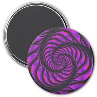 Imán espiral púrpura de la escalera