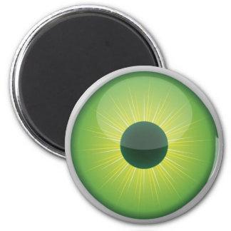 Imán estándar del globo del ojo de Halloween