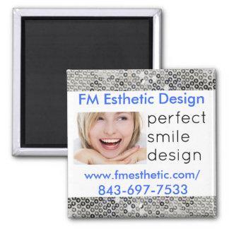 Imán estético del diseño de FM