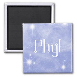 Imán estrellado de Phyl por 369MyName