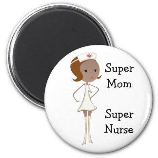 Imán estupendo de la enfermera