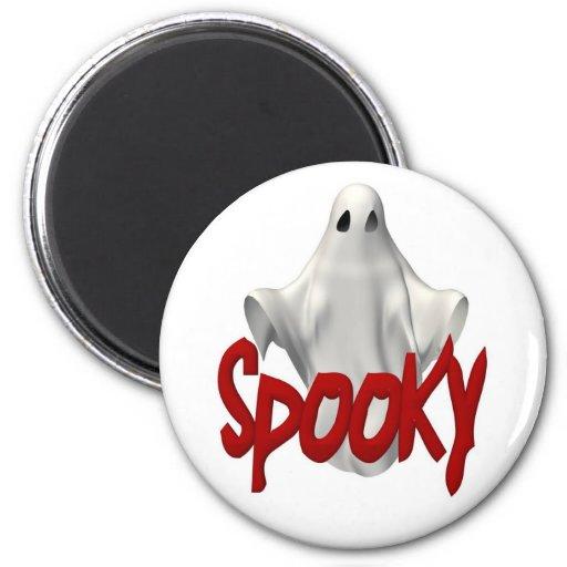 Imán fantasmagórico de Halloween