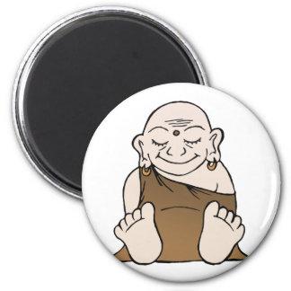 Imán feliz de Buda